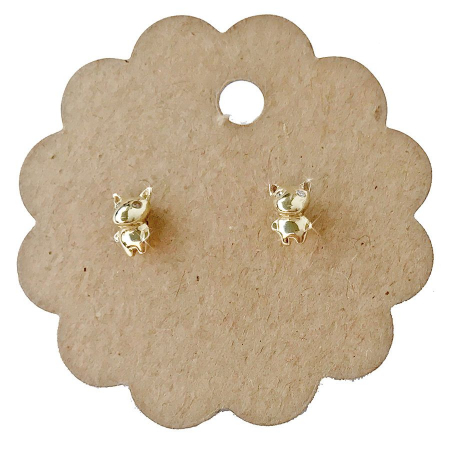 silver_good_luck_charm_zirconia_dog_earings_gold