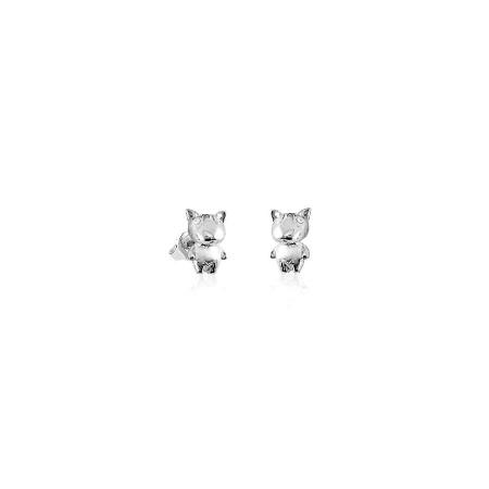 silver_good_luck_charm_zirconia_dog_earrings