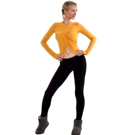 Bamboo_Yellow_Yoga_Top_Vegan_whole