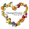OrangeHealia Powered by Fruits Illustration