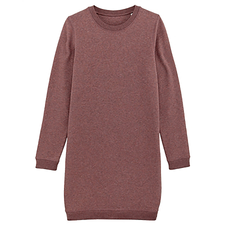 Organic Vegan Fair Trade Simple Sweater Tunic Dress